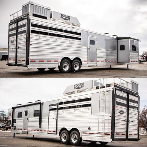 Logan Coach Living Quarter Horse Trailers