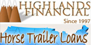 Highlands Financial - Horse Trailer Loans